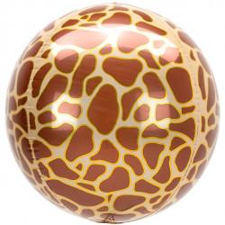 Giraf Foile Orbz Ballon