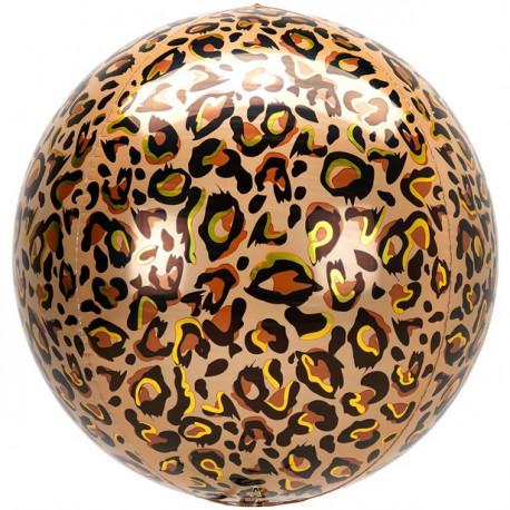 Leopard Foile Orbz Ballon