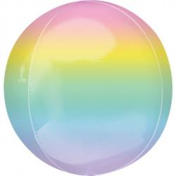 Pastel Ombre Regnbue Orbz ballon