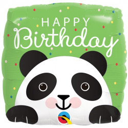 Panda Happy Birthday folie ballon