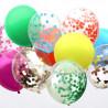 Mix af farverig og konfetti balloner fra Talking Tables