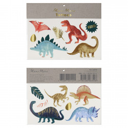 Dinosaur tatoveringer fra Meri Meri