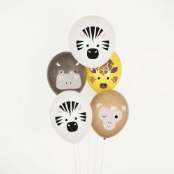Safari balloner fra Franske My Little Day