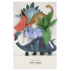 Dinosaur caketopper fra Meri Meri