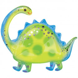 Brontosaurus SuperShape Ballon
