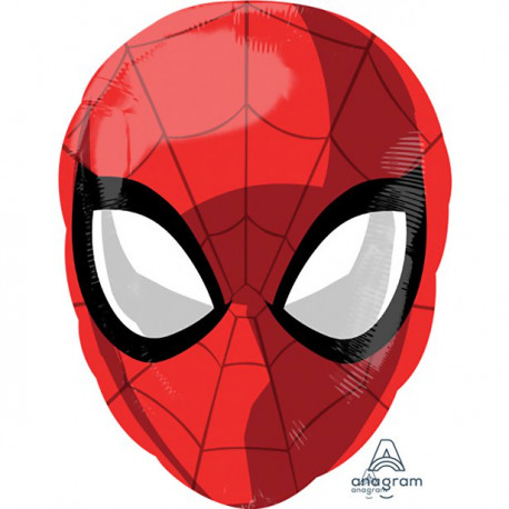 Spiderman maske folie ballon