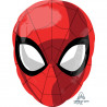 Spiderman maske folie ballon