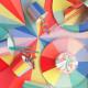 Color wheel tallerkner fra Meri Meri