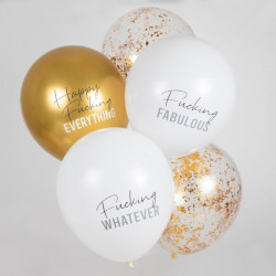 Happy fucking everything balloner fra GingerRay