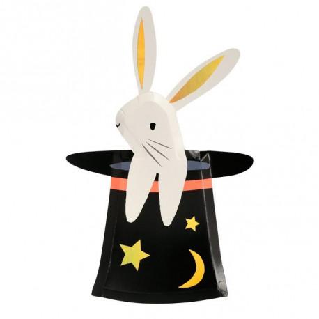 Kanin i hatten tallerkner fra Meri Meri