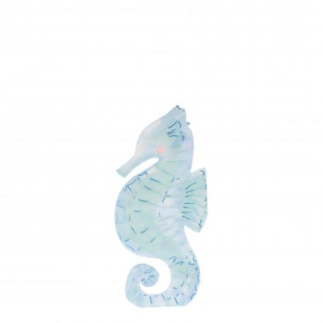 Søheste servietter fra Meri Meri Let's be mermaids