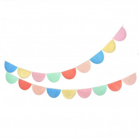 Papir guirlande i flotte farver fra Meri Meri
