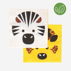Mini Safari servietter fra My Little Day