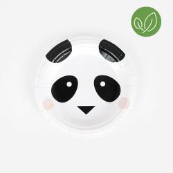 Mini Panda tallerkner fra My Little Day