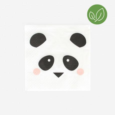 Mini Panda servietter fra My Little Day