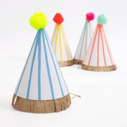 Pompom hatte med striber fra Meri Meri