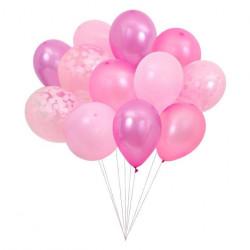 Lyserøde balloner fra Meri Meri
