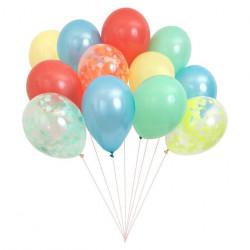 Multifarvede balloner fra Meri Meri
