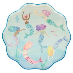 Svømmende havfrue tallerkner fra Meri Meri