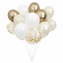 Guld balloner fra Meri Meri