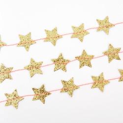 Mini Guld Stjerne Guirlande fra Meri Meri