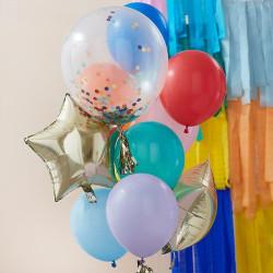 Regnbue ballon Buket fra GingerRay