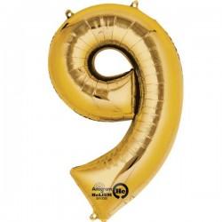Guld 9 tal ballon