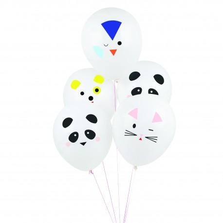 Balloner med Mini Animals Print fra My Little Day