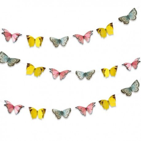 Sommerfugle guirlande til det smukke fairy tema