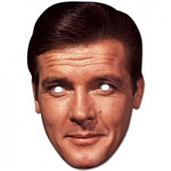 Roger Moore Maske til James Bond fest