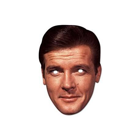Roger Moore Maske til James Bond fest