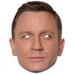 Daniel Craig Maske til James Bond fest
