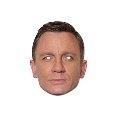 Daniel Craig Celebrity Maske