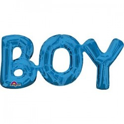 Blå Boy Guirlande