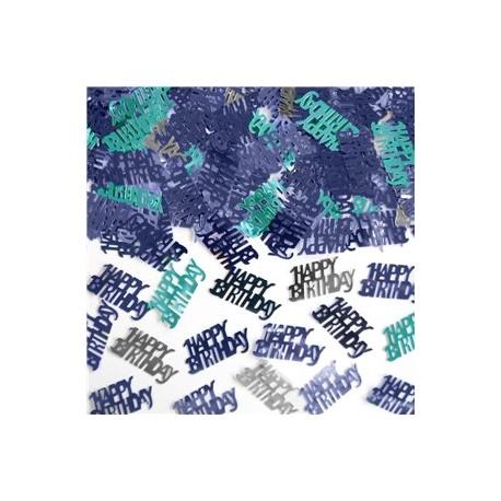 Happy Birthday Glitter konfetti