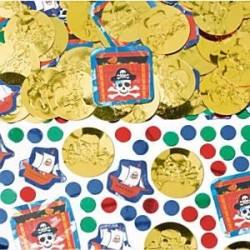 Pirat konfetti til sørøver fest