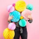 Honey Combs og papir bolde